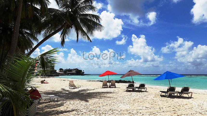 7400 foto pemandangan indah di pantai Gratis Terbaik