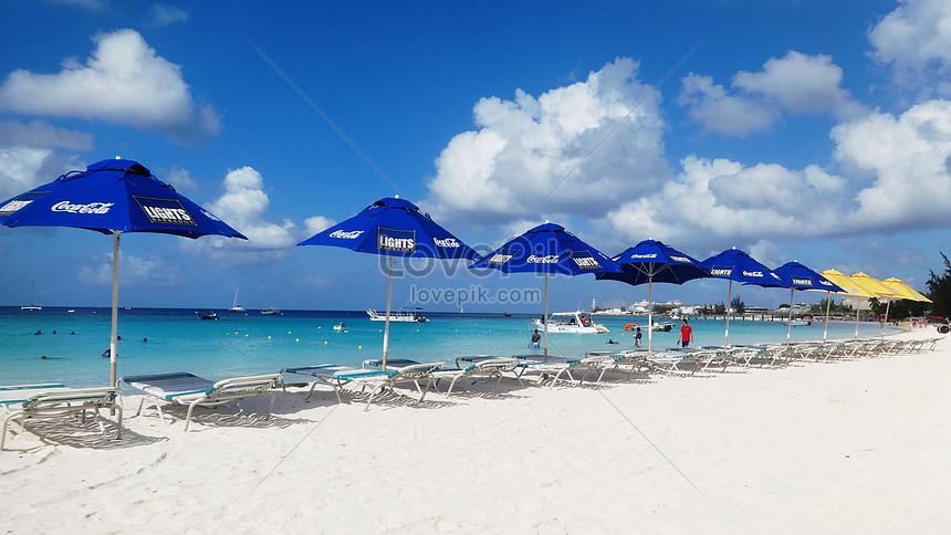 Pemandangan Laut Dan Pantai Yang Indah Di Barbados Adalah Resort Gambar Unduh Gratis Imej 501067302 Format Jpg My Lovepik Com