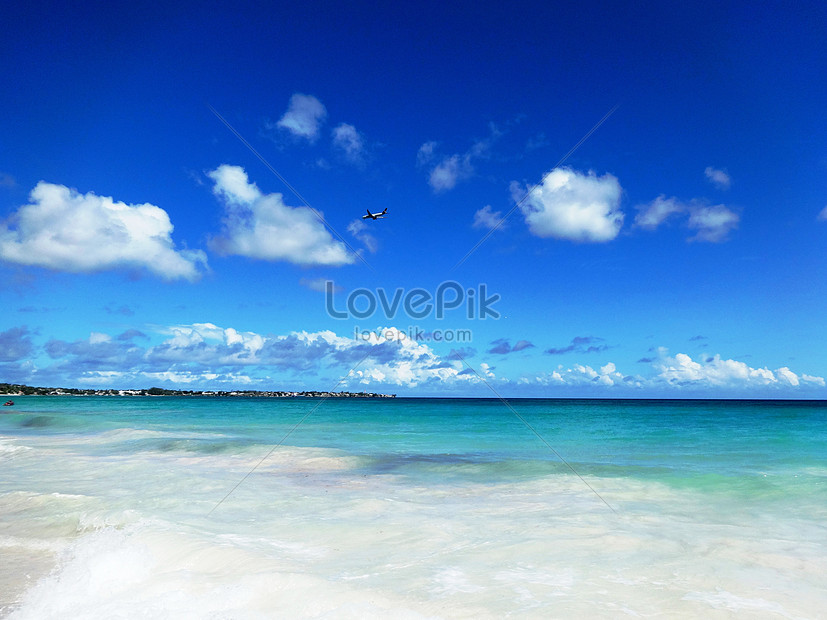 Pemandangan Laut Dan Pantai Yang Indah Di Barbados Adalah Resort Gambar Unduh Gratis Imej 501067309 Format Jpg My Lovepik Com