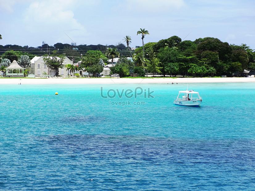 Pemandangan Laut Dan Pantai Yang Indah Di Barbados Adalah Resort Gambar Unduh Gratis Imej 501067311 Format Jpg My Lovepik Com