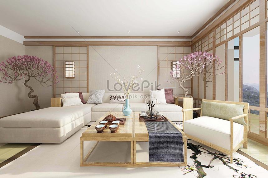 Photo De Design De Decoration Japonaise Numero De L