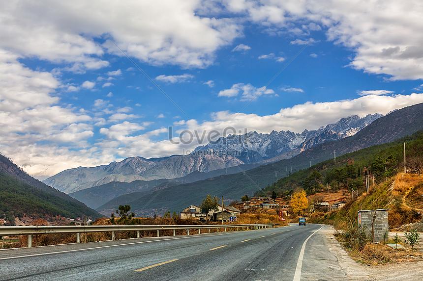 yulong snow mountain highway