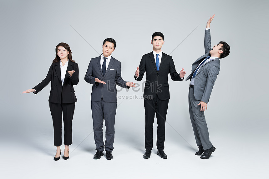 creative business team cooperation