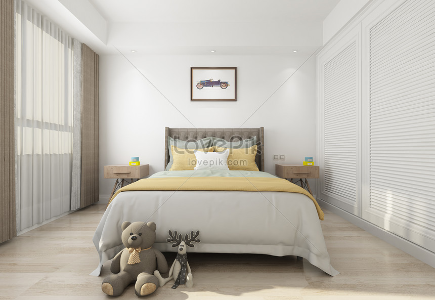 Interior Design Effect Drawing Of Childrens Bedroom Photo Image Picture Free Download 501152562 Lovepik Com
