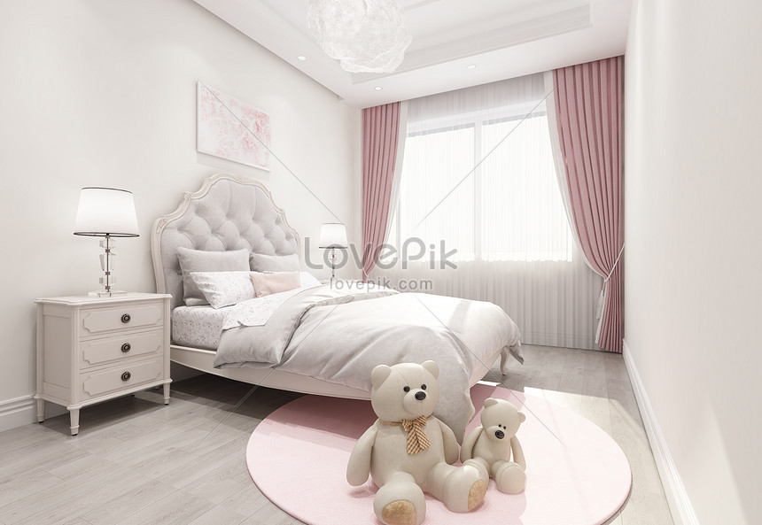 Interior Design Effect Drawing Of Childrens Bedroom Photo Image Picture Free Download 501152571 Lovepik Com