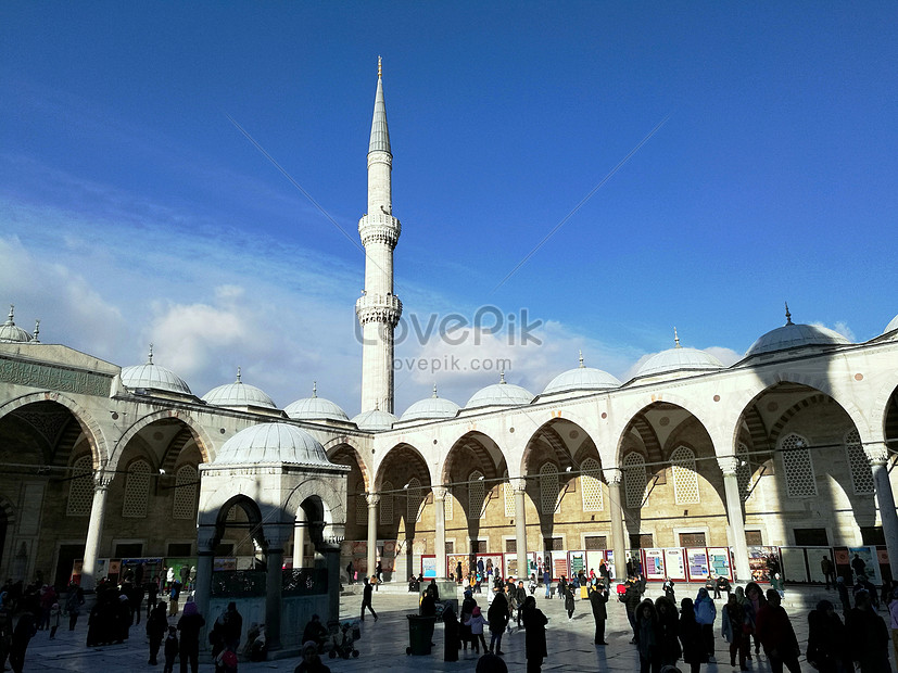 Masjid Istanbul Turki Gambar Unduh Gratis Imej 501185344 Format