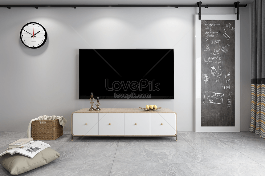 Simple Tv Background Creative Image Picture Free Download 501201921 Lovepik Com