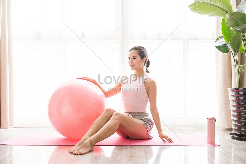 female yoga
