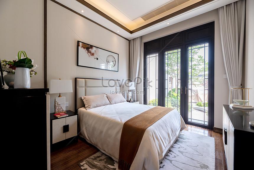 Photo De Chambre A Coucher Dans La Nouvelle Chambre Modele Villa