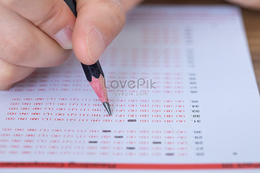 Exam answer sheet photo image_picture free download