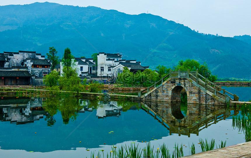 jiangnan water town huizhou architecture