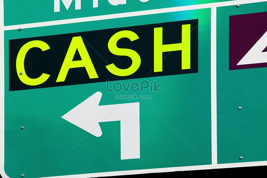cash sign