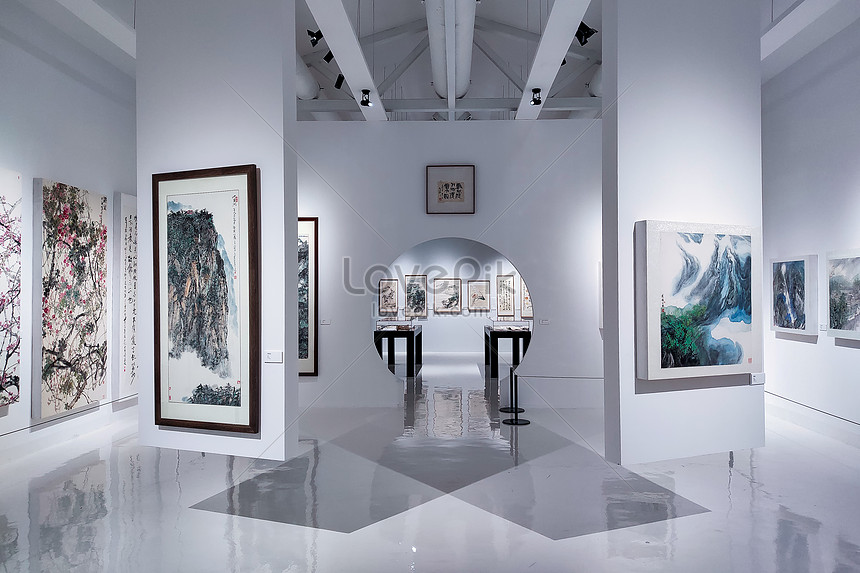 Interior Of Antique Chinese Style Art Museum Photo Image Picture Free Download 501551479 Lovepik Com