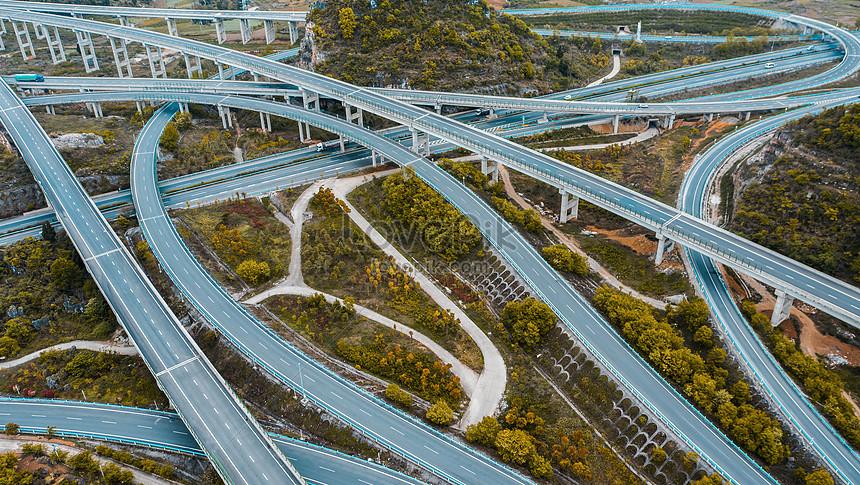 guizhou anshun xiaotun interchange expressway hub