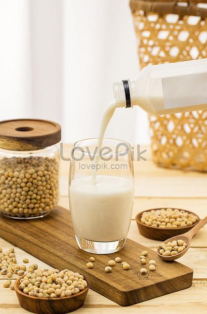 soy milk breakfast