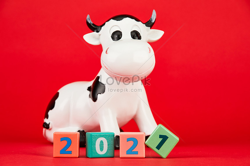 2021 new years day year of the ox material