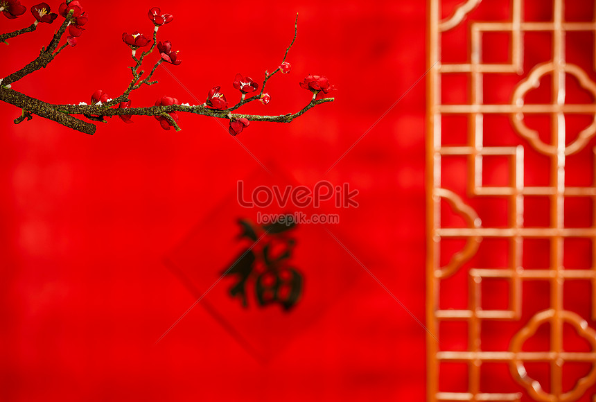 2021 new years day and chinese new year blessing background