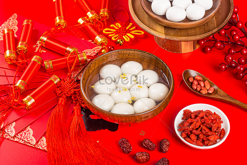 chinese new year and lantern festival food