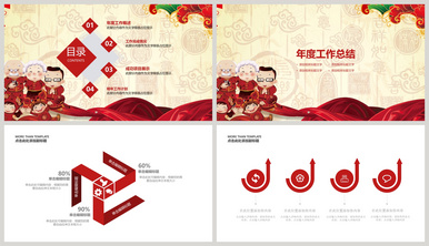 In spring powerpointin spring powerpoint templatein spring pptin china red festival year end summary ppt template toneelgroepblik Gallery
