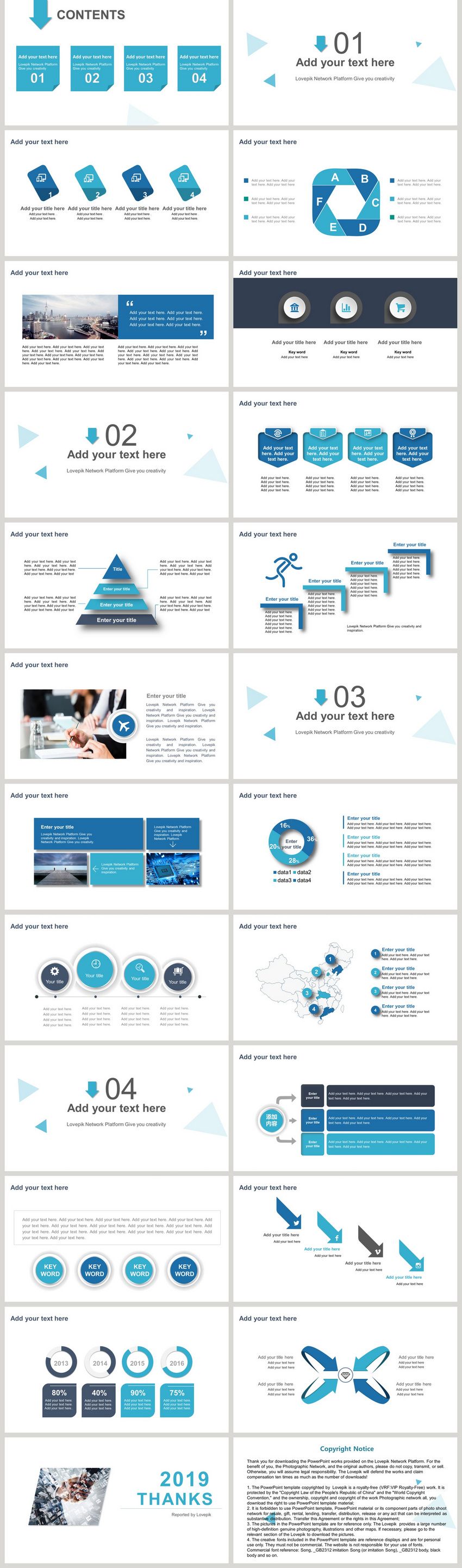 blue and delicate companys corporate speech ppt template powerpoint