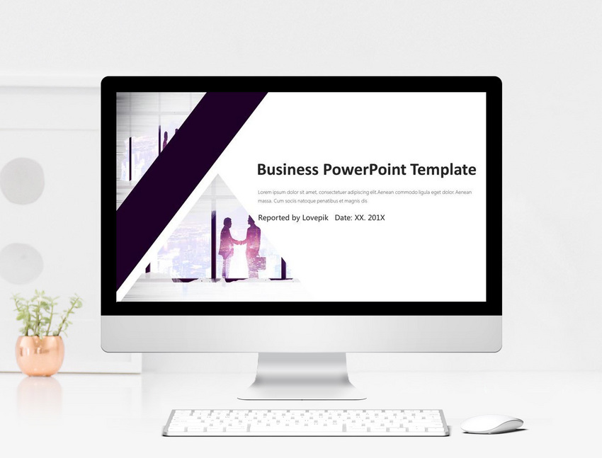 annual work report and ppt template for next year s business pla