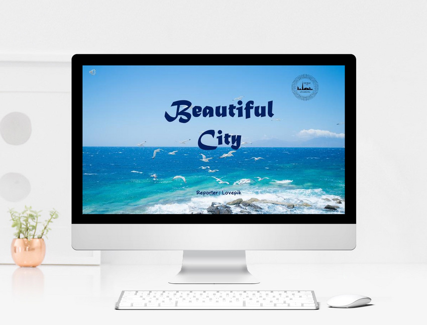 high end business southeast asia travel album ppt template