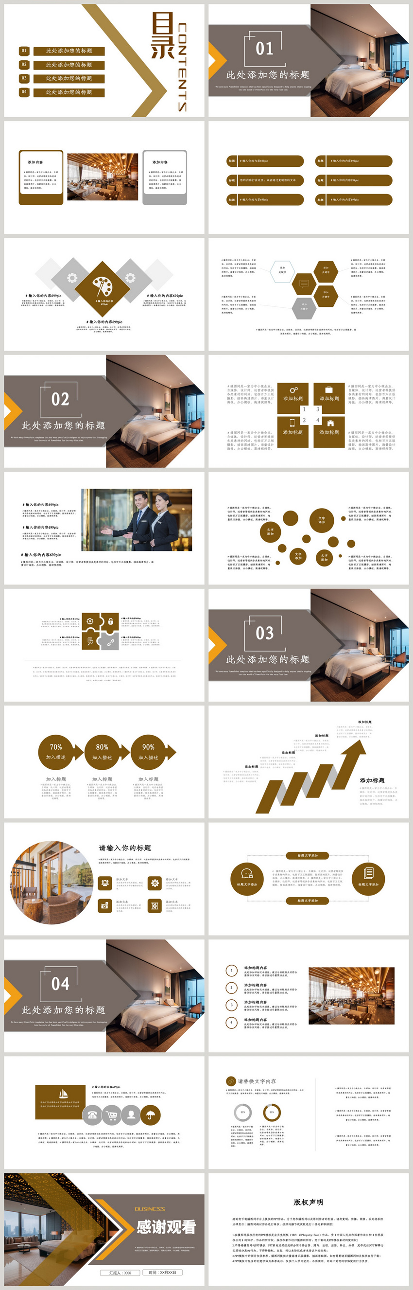 Hotel Industry Summary Ppt Template Powerpoint Templete Ppt Free Download 401411517 Lovepik Com