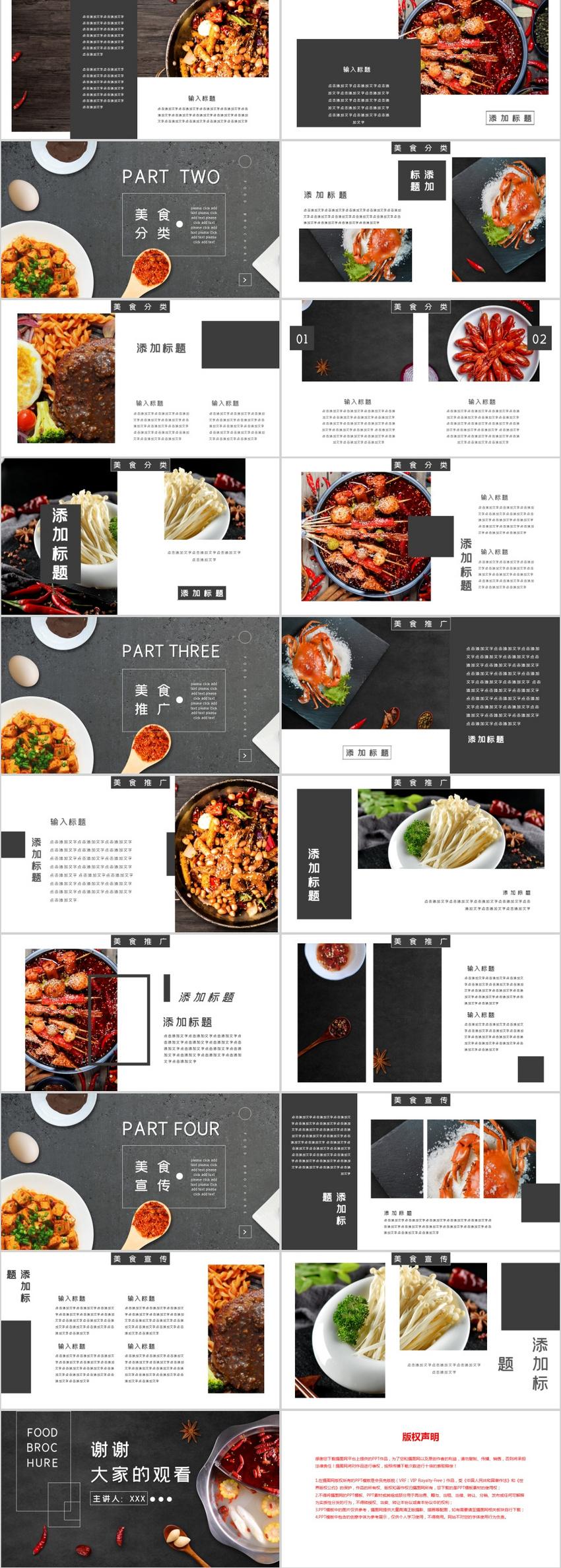 Hot Pot Gourmet Brochure Ppt Template Powerpoint Templete Ppt Free Download 401656195 Lovepik Com
