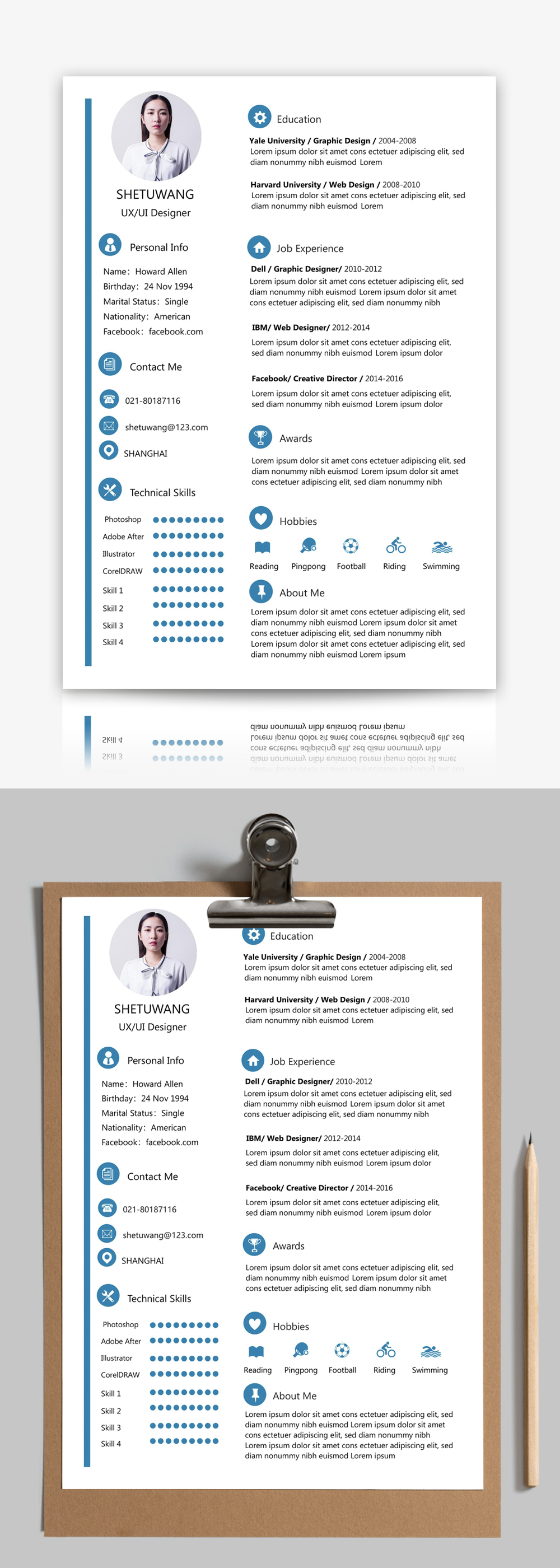 English resume template word template_word free download ...