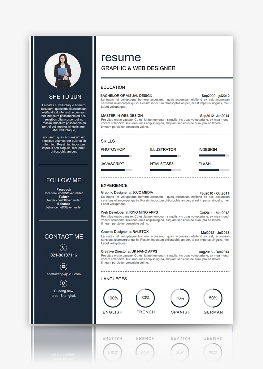 web designers resume template word template word free download