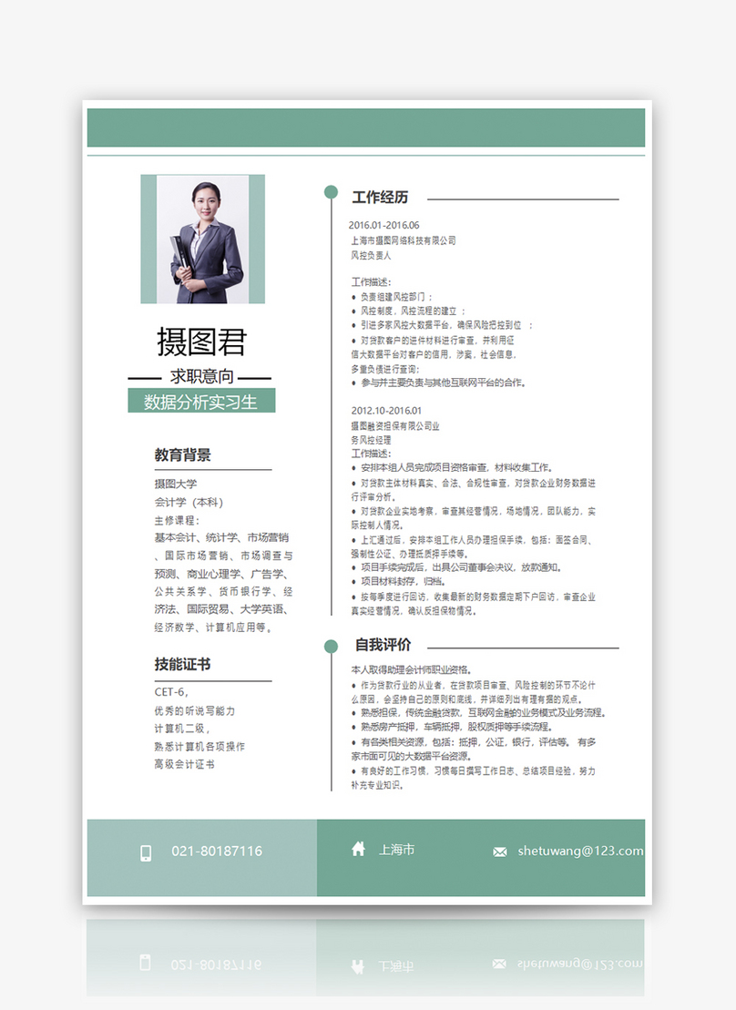 Data Analyst Resume Template Word Template Word Free