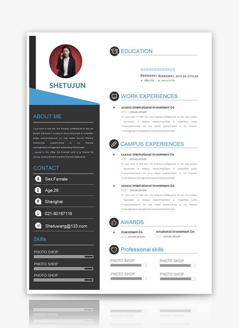 english resume word template word template word free