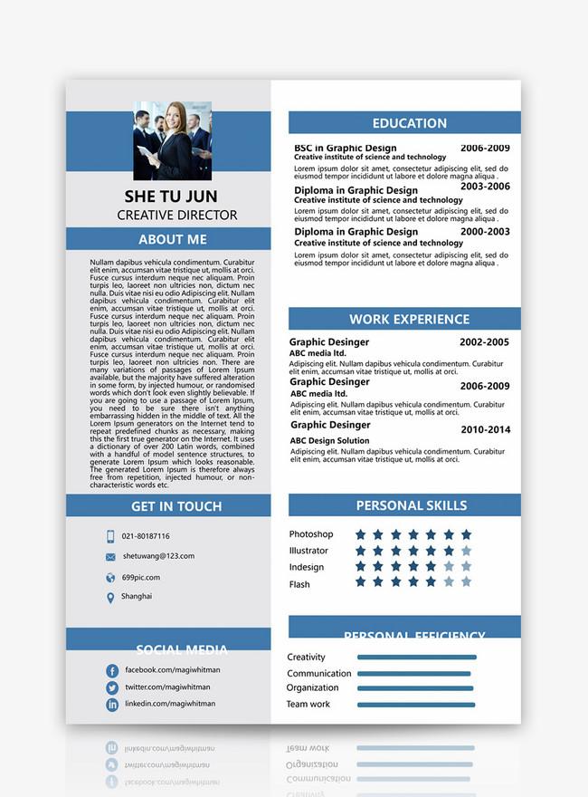 resume of english resume word template